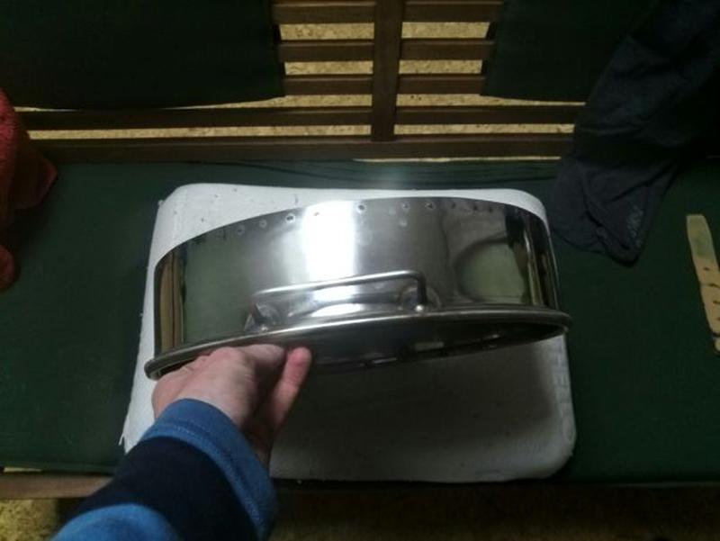 Чабань с нержавейки (чайный столик) - Фото 3