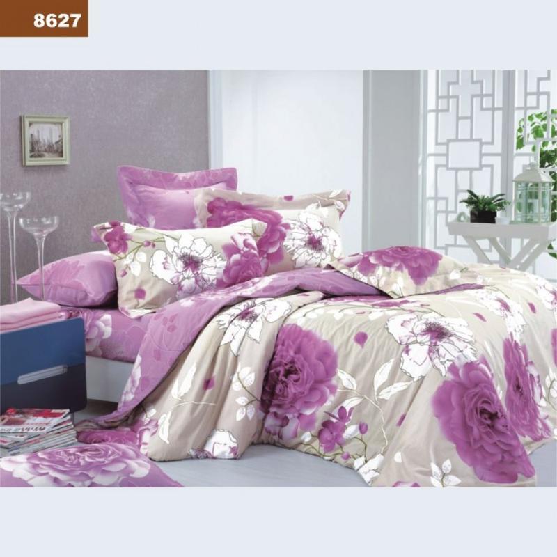 Полуторный комплект постельного белья № 8627