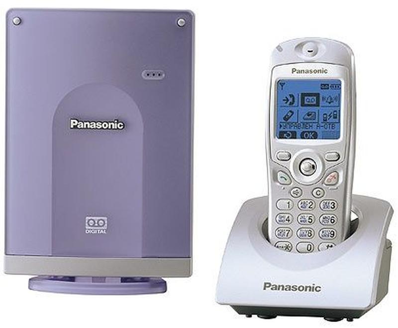 Цифровой радиотелефон Panasonic KX-TCD 586.