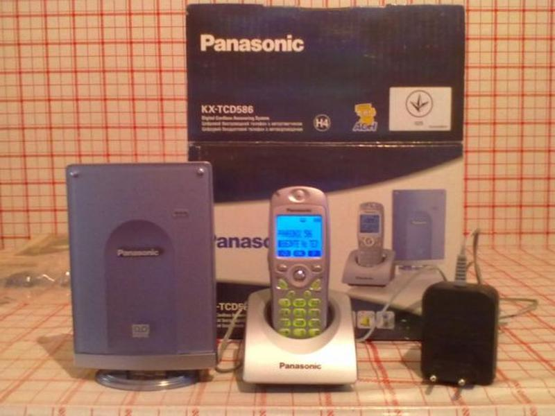 Цифровой радиотелефон Panasonic KX-TCD 586. - Фото 5