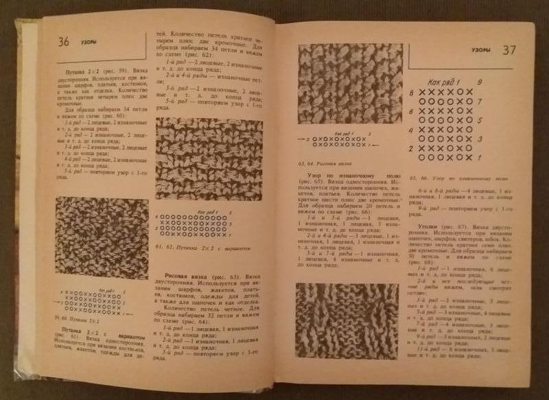 Книга Раскутина Р.В. Вязание на спицах Петрозаводск,1992год. - Фото 3