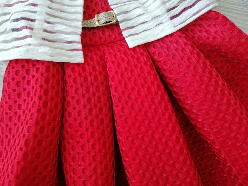 Красивенные качественные костюмы-двойки электрик/красный на ро... - Фото 4