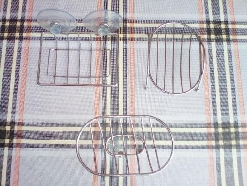 Мыльница и держатель рулона для туалетной бумаги