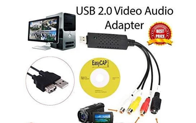 EasyCap - USB карта видеозахвата LUX, EasyCap адаптер оцифровка