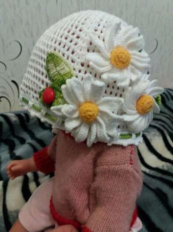 Панамка шапочка летняя для девочки