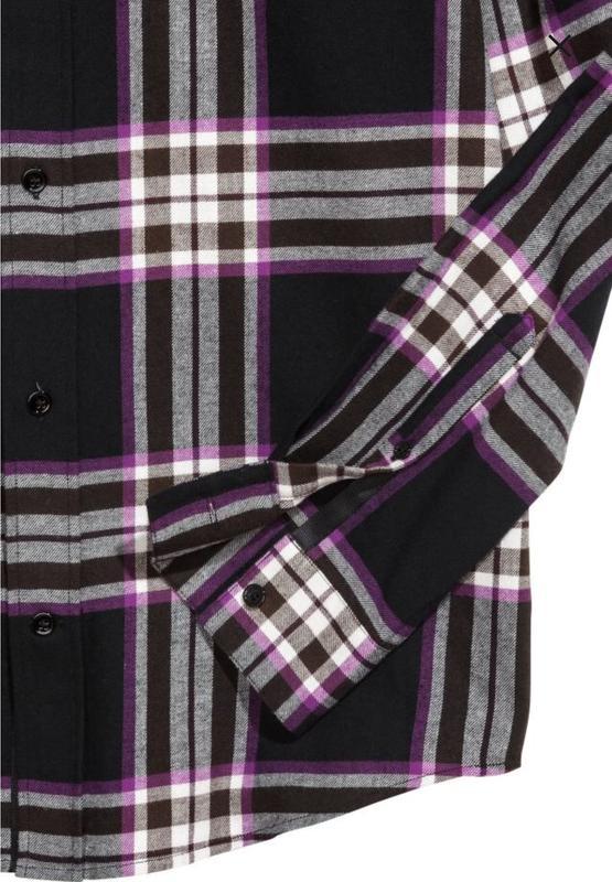 Рубашка мужская в клетку от H&M STUDIO - Фото 3