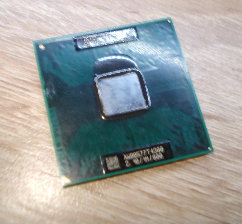 Процесор для ноутбука. T4300.