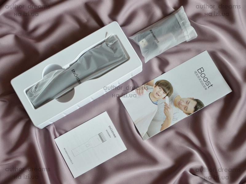 С гарантией Xiaomi Mi Enchen Boost машинка для стрижки триммер - Фото 2