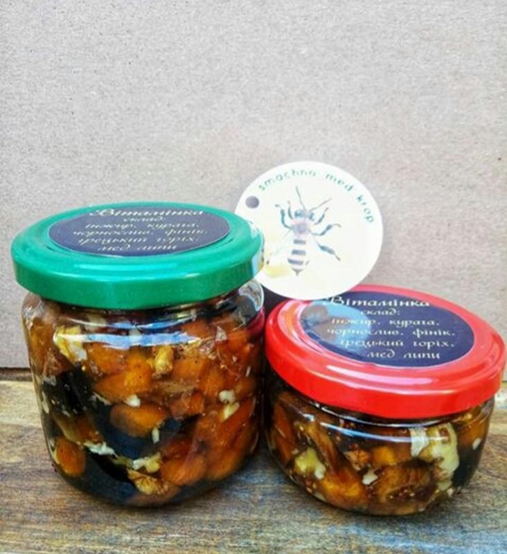 Мед з горішками та сухофруктами - Фото 2