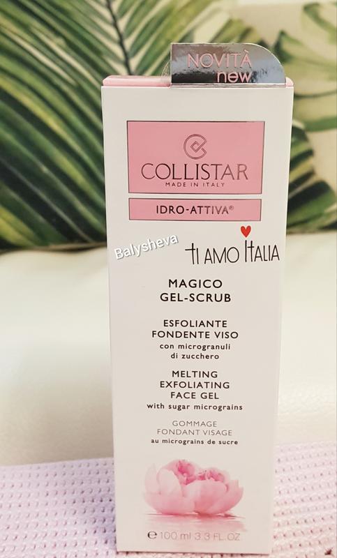 Collistar magico gel scrub гель-скраб для лица