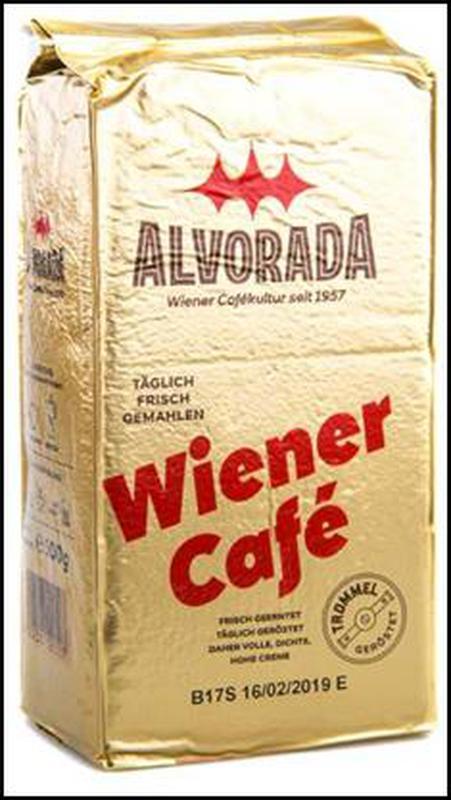Кофе молотый Alvorada Wiener Cafe 500 г, (Австрия)