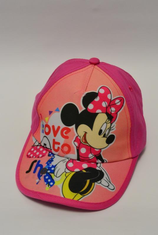 13-174 кепка minnie mouse детская бейсболка панамка шапка - Фото 3