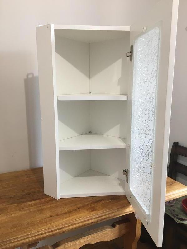 Шкаф навесной угловой - Фото 5