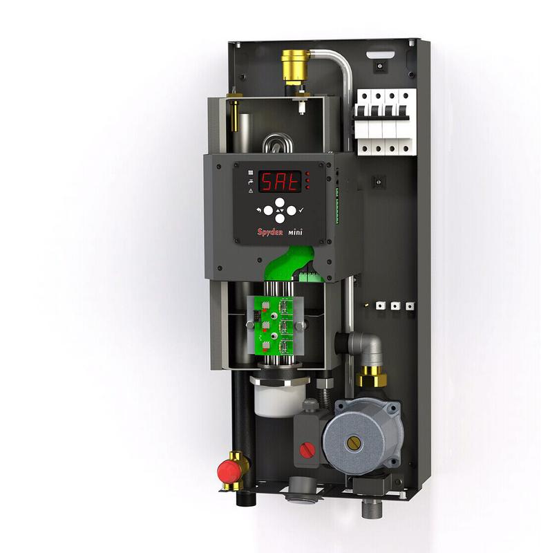 Электрический котел mini Spyder электро котел 3-12 кВт - Фото 2