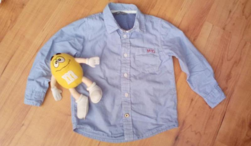 Рубашка сорочка детская модная - Фото 2
