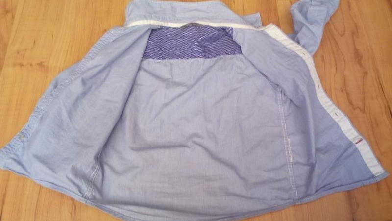 Рубашка сорочка детская модная - Фото 4
