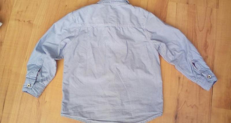 Рубашка сорочка детская модная - Фото 5