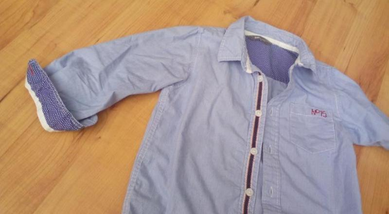 Рубашка сорочка детская модная - Фото 6