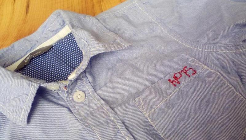 Рубашка сорочка детская модная - Фото 9