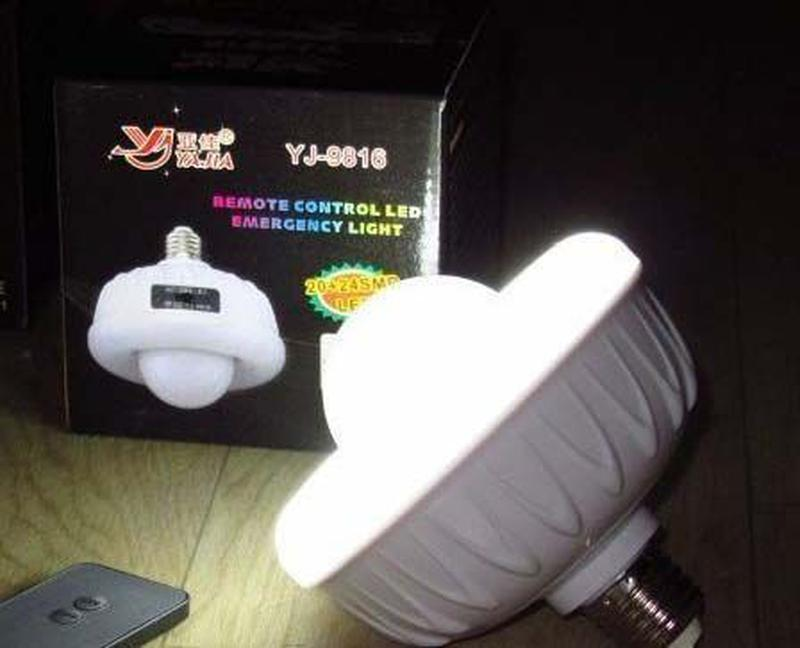 LED лампа аварийный светильник для дома гаража
