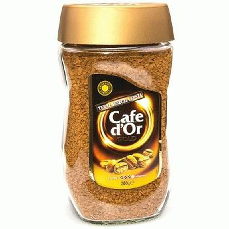 Cafe D`Or Gold — растворимый сублимированный кофе, 200 гр