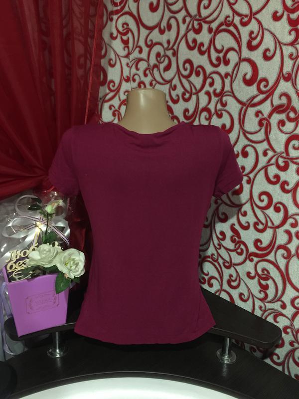 *очень красивая и оригинальная футболка для беременных и кормя... - Фото 4