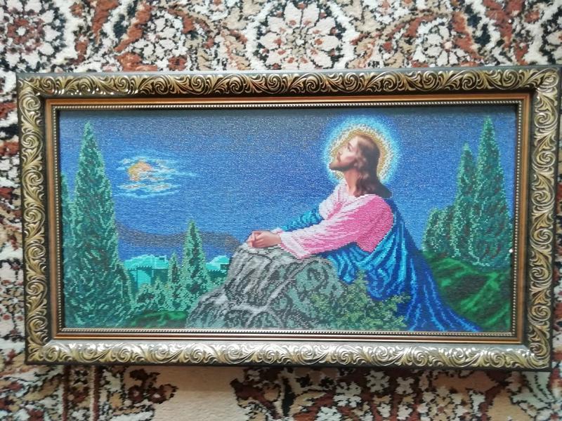"""Ікона """"Ісус на Оливній горі"""" - Фото 2"""