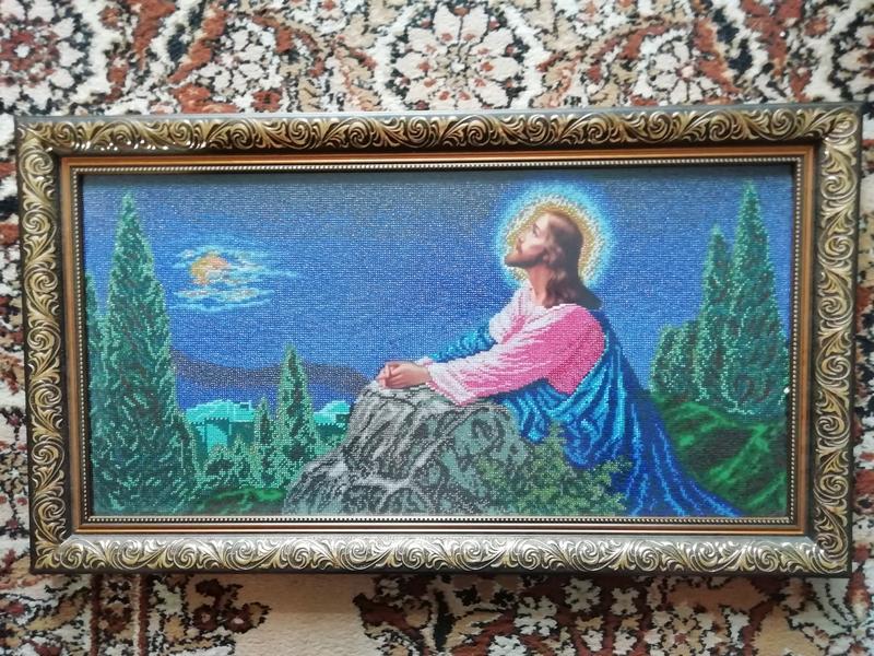 """Ікона """"Ісус на Оливній горі"""" - Фото 3"""