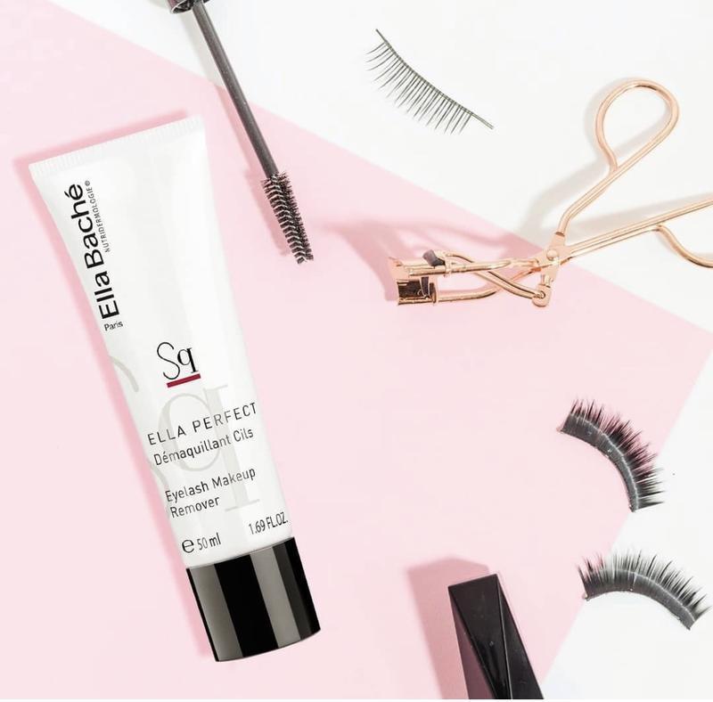 Демакияж для век eyelash makeup remover ella bache 50 ml