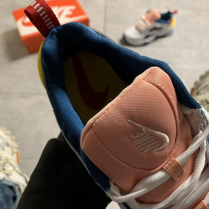Женские кроссовки  nike m2k tekno (разноцветные) - Фото 7
