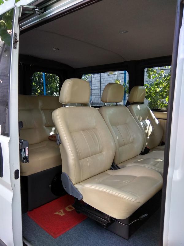 Пассажирские перевозки Peugeot Boxer 8 мест - Фото 2