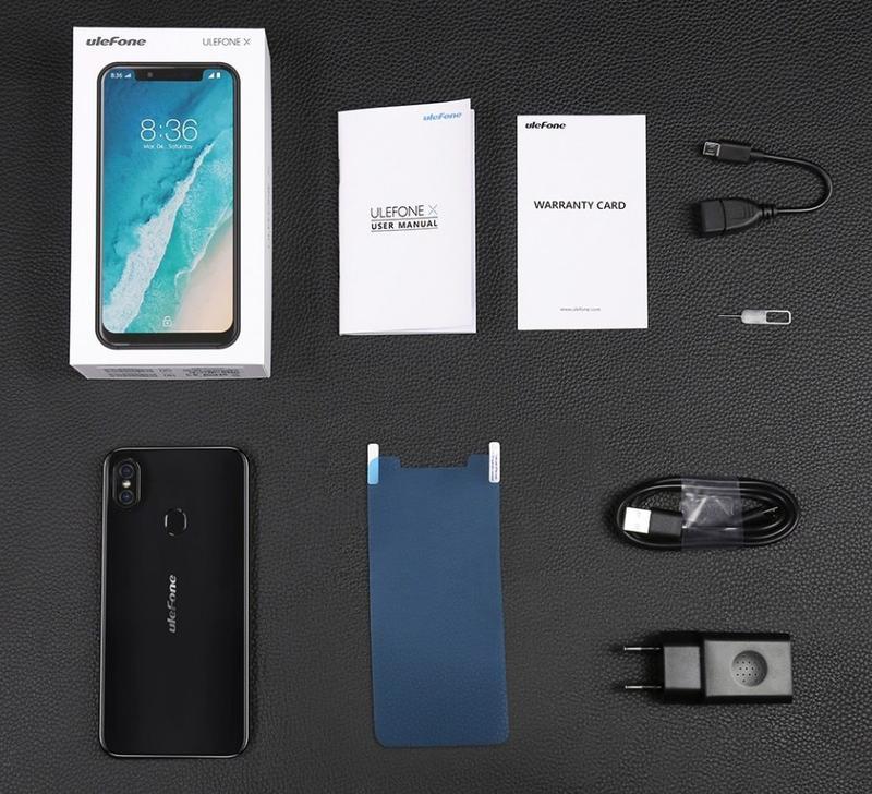 """Телефон. Смартфон Ulefone X. 4/64 Гб, 5,85""""экран, 8 ядер. - Фото 3"""