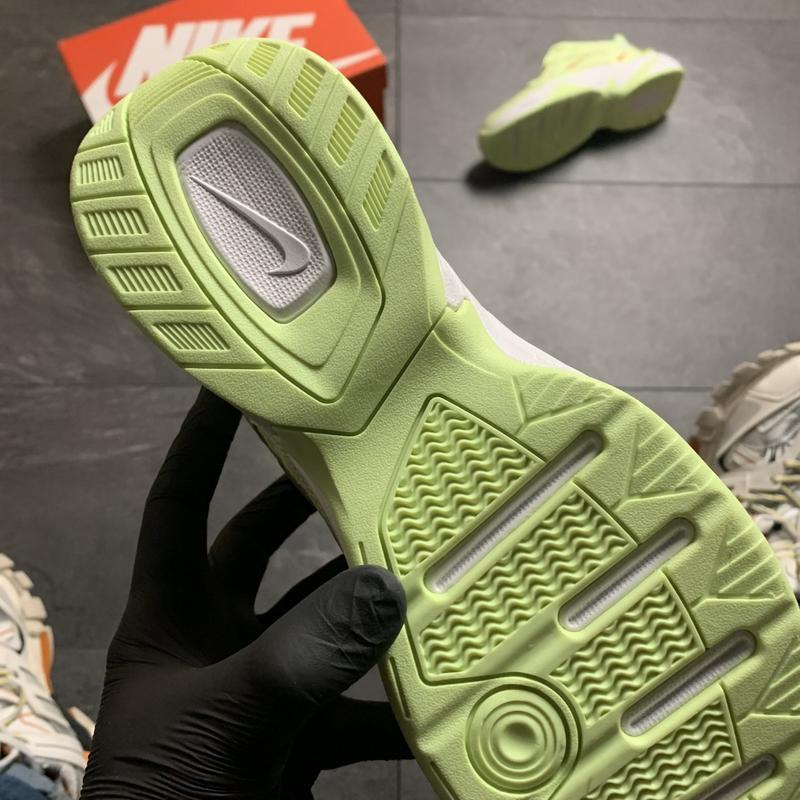 Женские кроссовки  nike m2k tekno (зеленые) - Фото 5