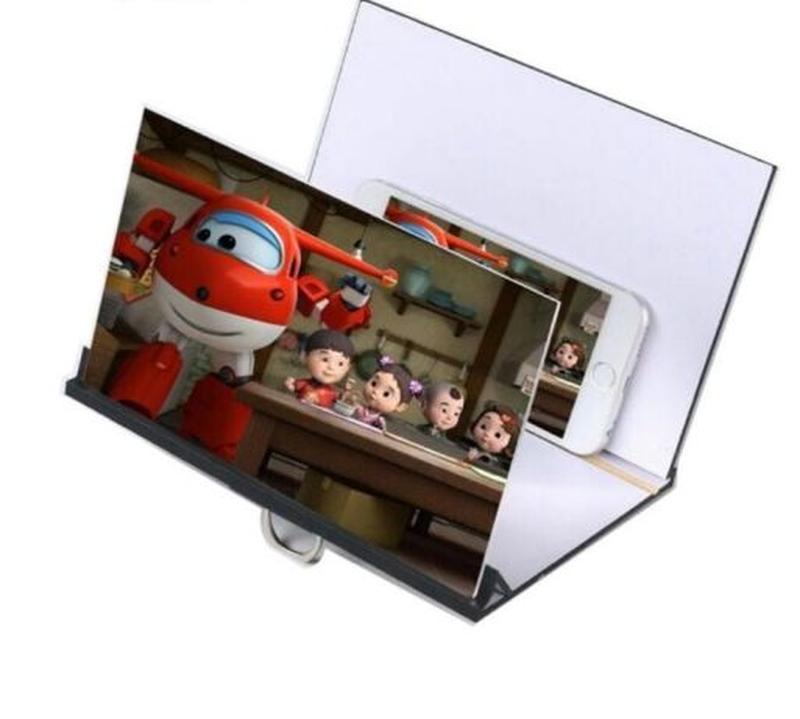 3d увеличитель экрана, для просмотра видео с телефона, 8-12 дю...