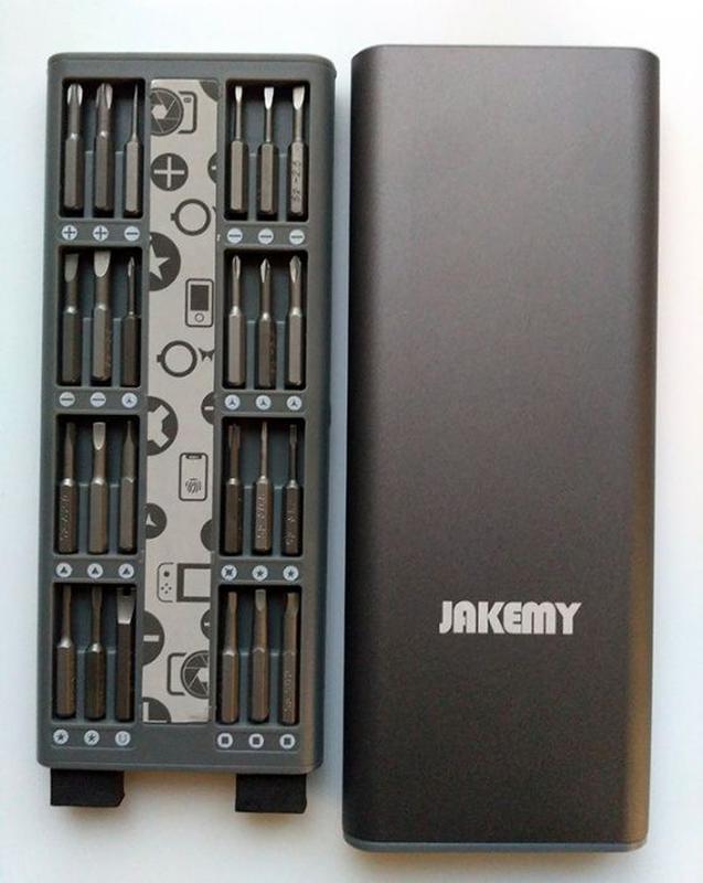 Инструменты Jakemy 49 в 1 Pro Tech набор отверток JM-8169 - Фото 5