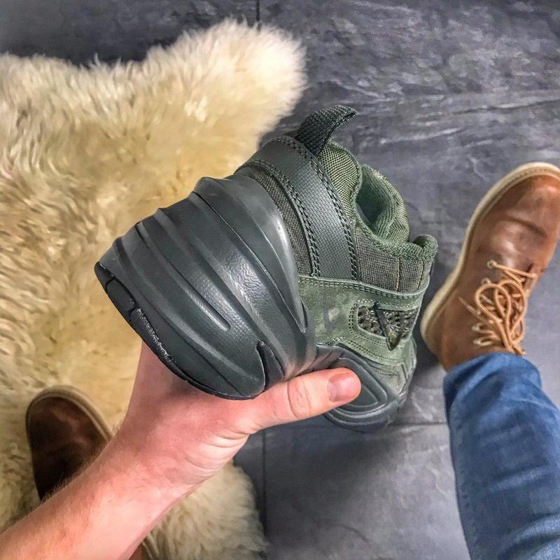 Женские кроссовки  nike m2k tekno (зеленые) - Фото 6