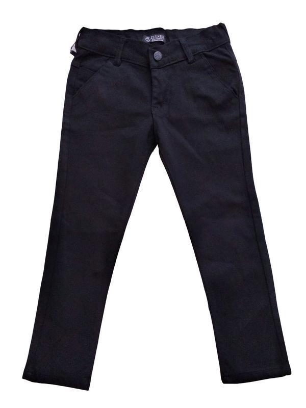 Коттоновые брюки для мальчиков в школу