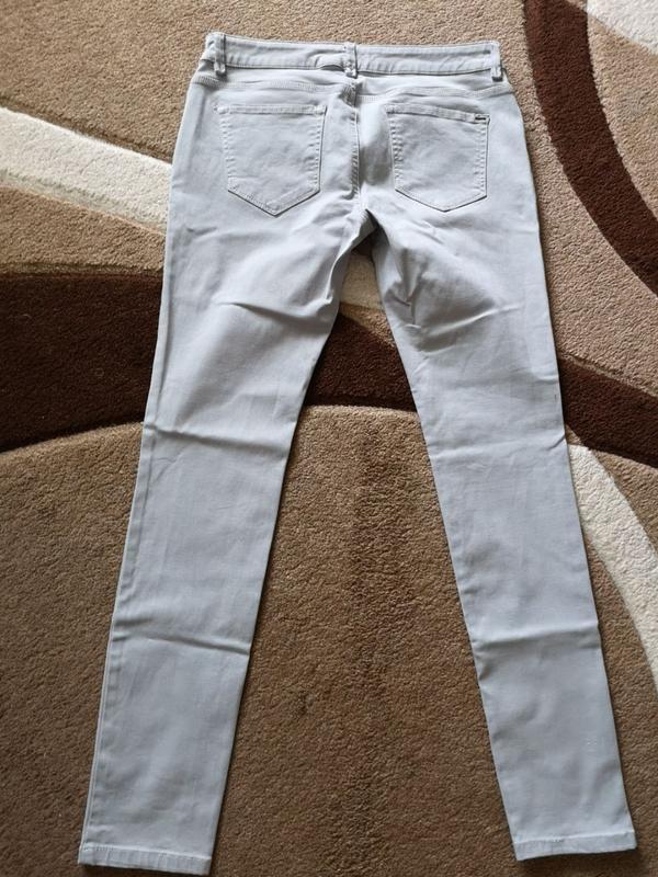 Джинсы серые штаны esprit - Фото 2