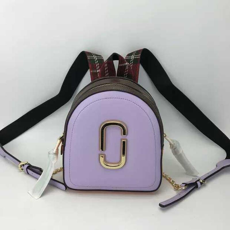 Распродажа стильный кожаный рюкзак marc jacobs