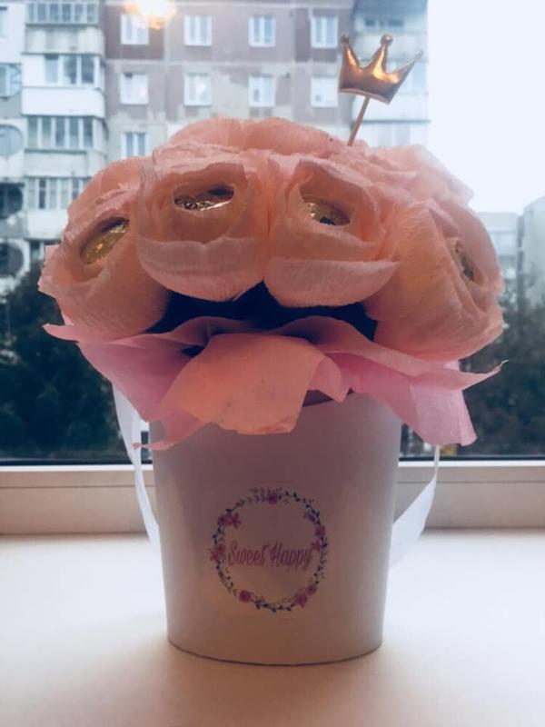 Букети з солодощами - Фото 2