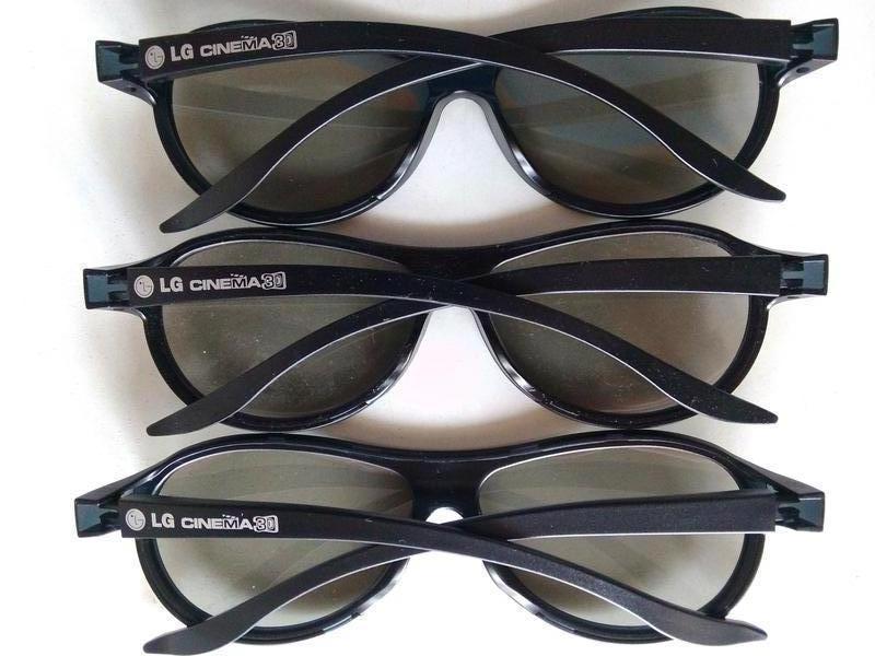 Очки LG cinema 3D.