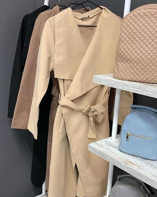 Кошемировое пальто - Фото 3