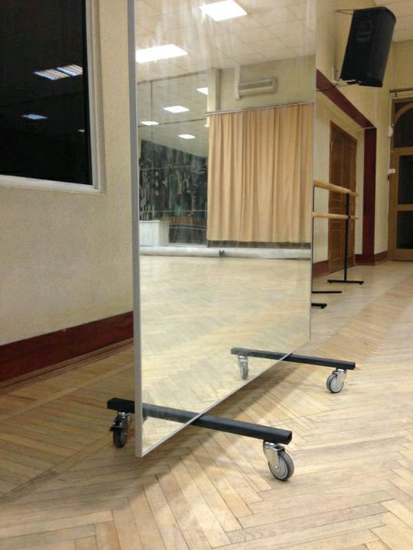 Зеркала в спортзал танцевальную студию Софиевская борщаговка - Фото 4
