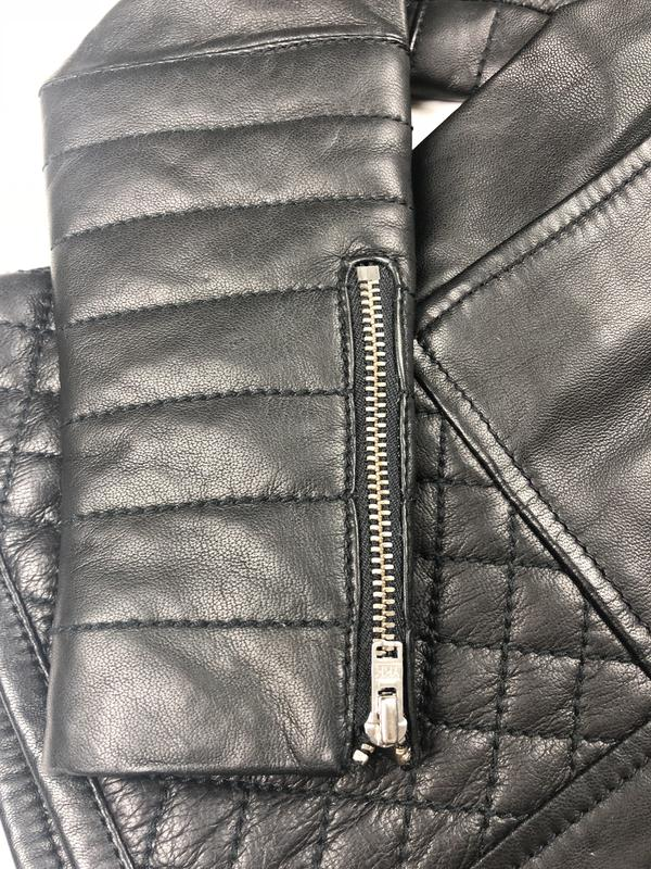 Куртка на девочку , эко кожа Monnalisa СКИДКИ - Фото 3