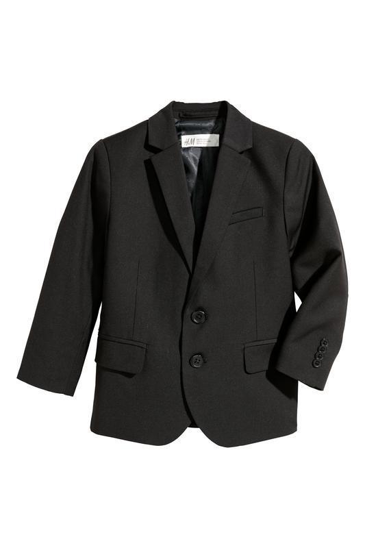 Пиджак черный h&m для мальчика, р. 134