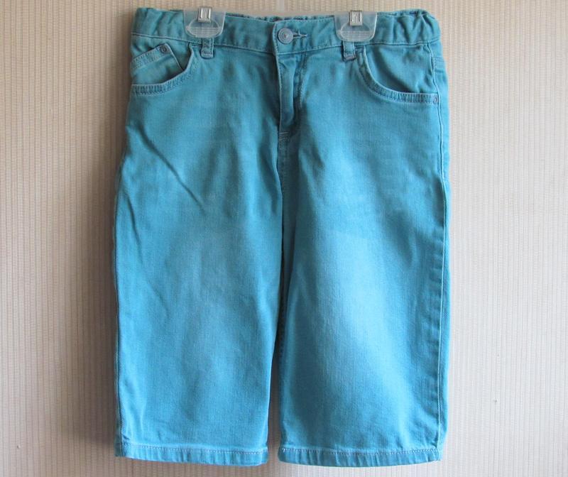 Фирменные джинсовые шорты lc waikiki, от 7 до 9 лет
