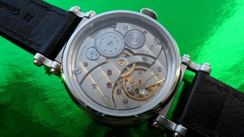«AVIATOR _Молния» БОЛЬШИЕ часы мех. 50-х. СОВРЕМЕННЫЙ дизайн - Фото 3