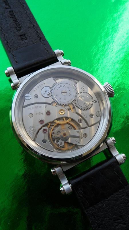 «AVIATOR _Молния» БОЛЬШИЕ часы мех. 50-х. СОВРЕМЕННЫЙ дизайн - Фото 10