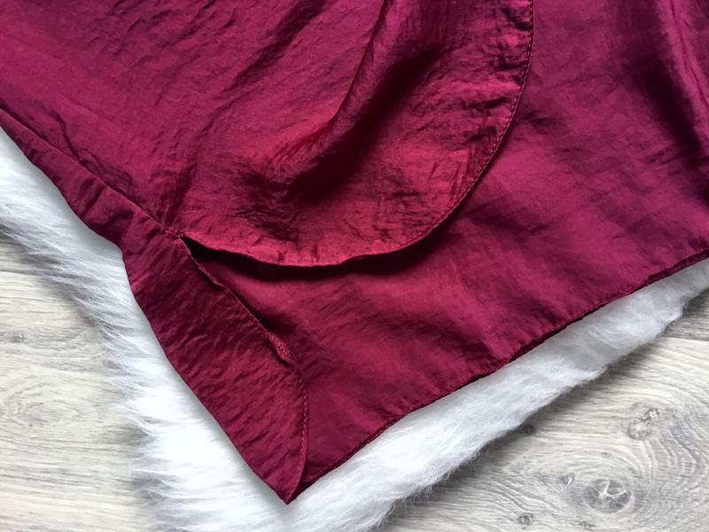 Платье летнее цвета марсала - Фото 4