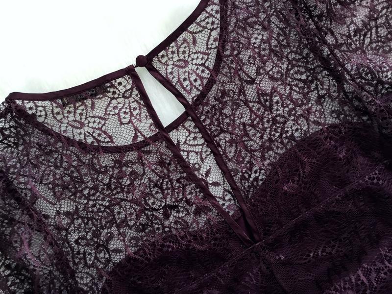 Платье кружевное - Фото 4